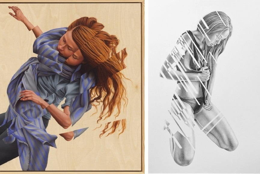 Left James Bullough - Unraveled. Right James Bullough - Gwen.