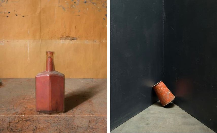 Morandi's Objects, 2015, Grey Corner, 2014