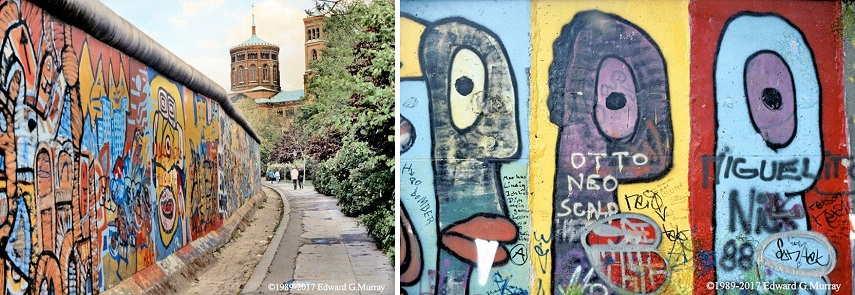 Left Mariannenplatz Right P Heads, german culture in berlin