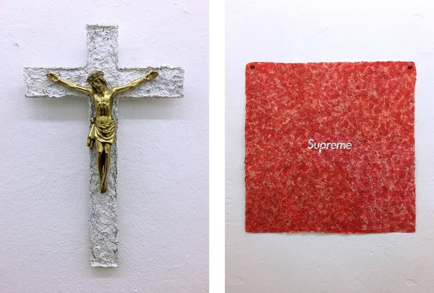 Left RYR - Crucificition Right RYR - Supreme