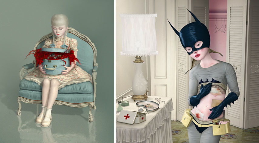 ray caesar dedicated a lot of his pieces to his mother