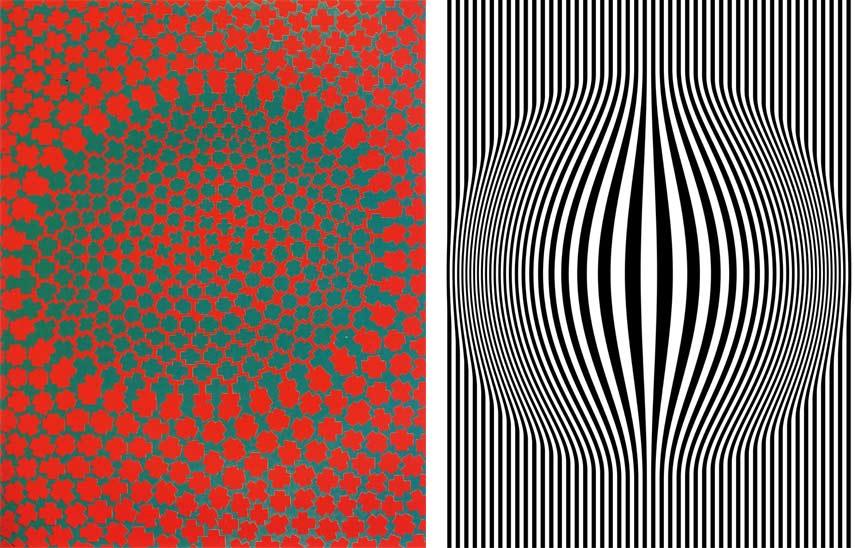 Contrast in artwork