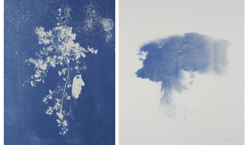 Left Rosie Emerson - Capella, 2014, Right Rosie Emerson - Nephele, 2014