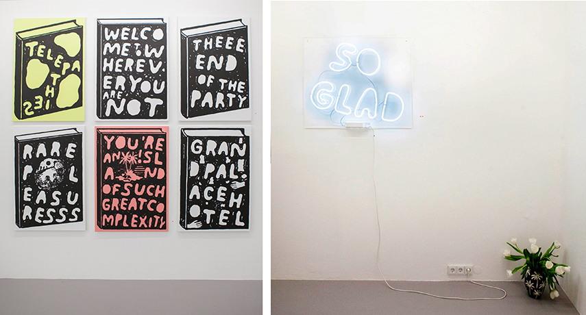 Left: Stefan Marx - In Dreams Exhibition at Ruttkowski;68 / Right: Stefan Marx - In Dreams Exhibition at Ruttkowski;68