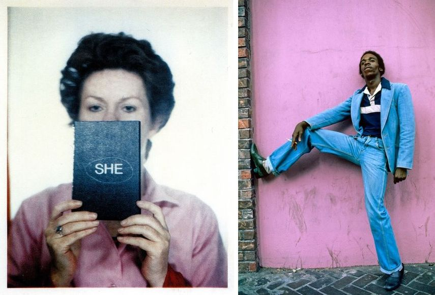 Tina Keane - SHE, Photo-Booth Performance I, 1977 / Willy Spiller - Harlem, 1977-1984