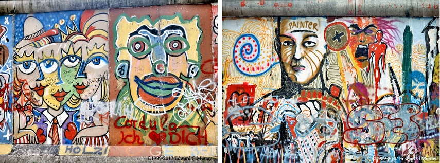 Left Three Lips Right Painter, german berlin culture