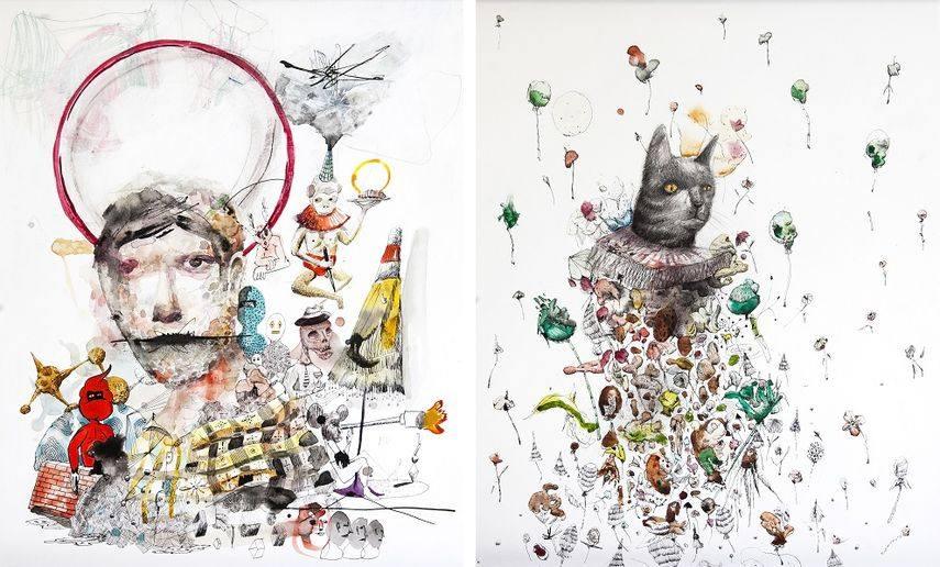 Left and Right - Collin Van Der Sluijs Artwork