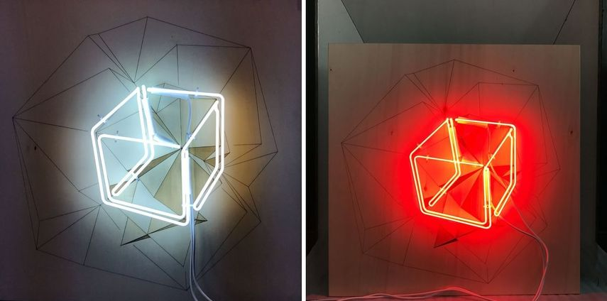 lighting installation presented studio lights design and sculpture