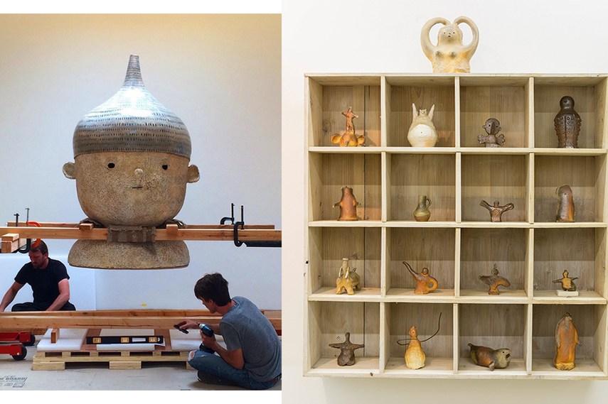 Left: image via blueandpoe instagram / Right:  Otani Workshop - artwork