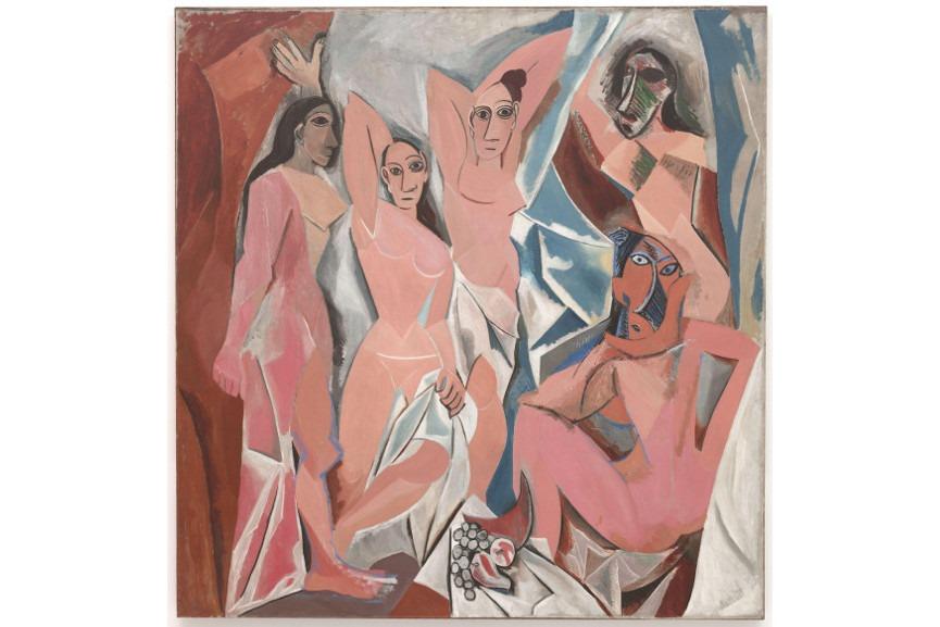 picasso pablo - Les Demoiselles d'Avignon, 1907 - Image via wikimediaorg and via Picasso