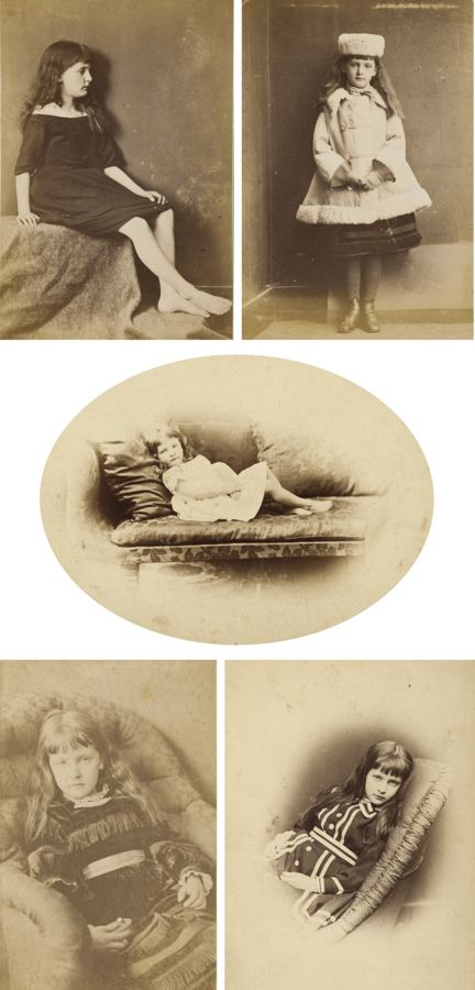 Lewis Carroll-Selected Portraits Of Alexandra Xie Kitchin-1874