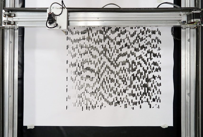 Liat Segal -This Is Not A Type Writer. Image courtesy of the artist