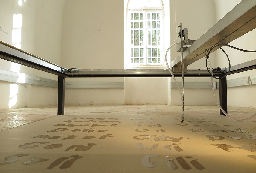 Liat Segal - Writing Machine, 2014. Image courtesy of the artist. (2)