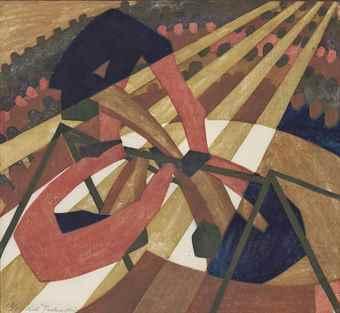 Lill Tschudi-In the Circus-1932