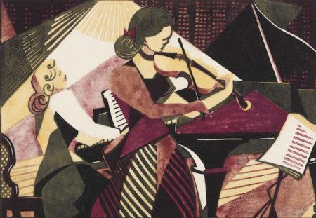 Lill Tschudi-Musicians-1949