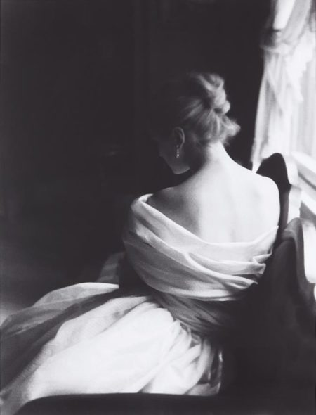 Lillian Bassman-Margie Cato [test shoot] New York-1950
