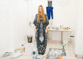 Lindsay Lawson in her Studio