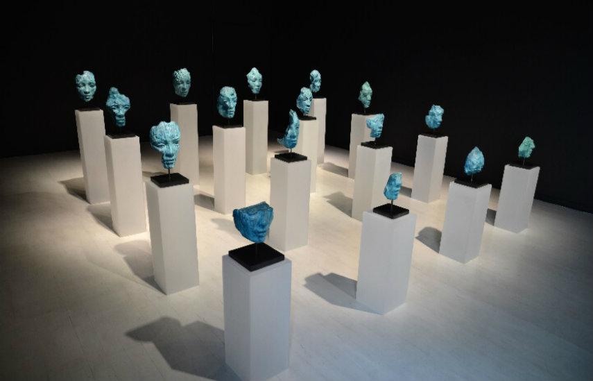 Lionel Smit - Origins Broken Fragment Installation, 2015