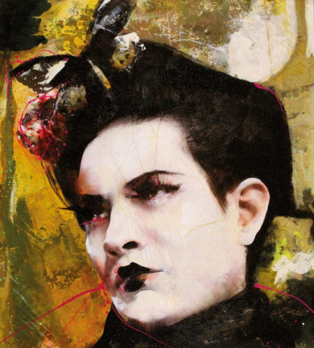 Lita Cabellut-Dried Tear 12-