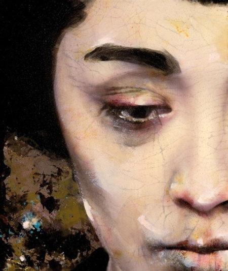 Lita Cabellut-Dried Tear 28-
