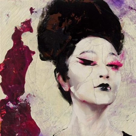 Lita Cabellut-Dried tear 71-2014