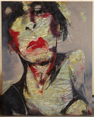 Lita Cabellut-Portrait de Femme-2007