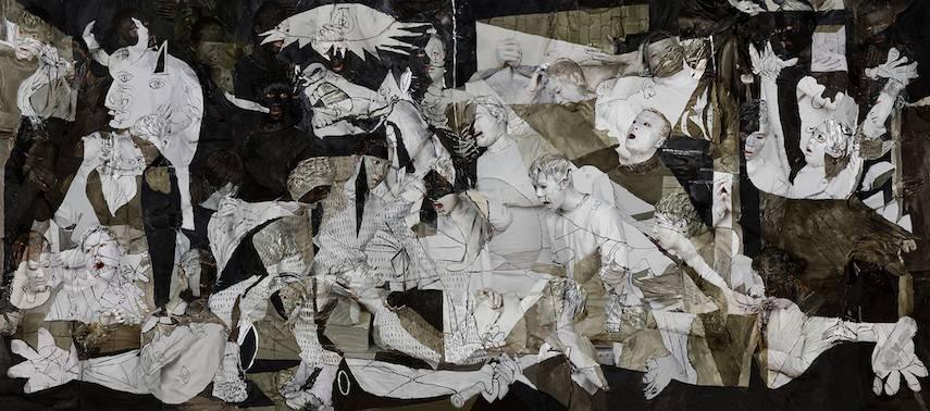 Liu Bolin - Guernica, 2016