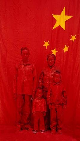Liu Bolin-No.1 of Whole Family-2007