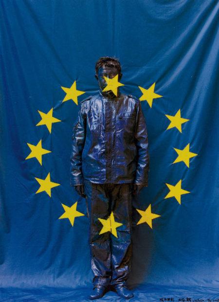 Liu Bolin-UE Flag-2008