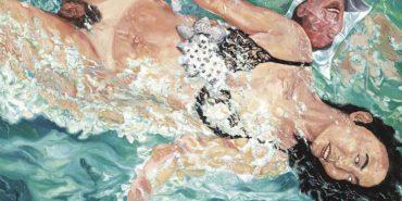 Liu Wei - Swimming (detail), 1990s