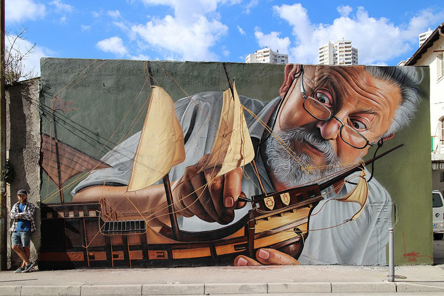 Most beautiful murals of the year 2016 widewalls for Best mural artist