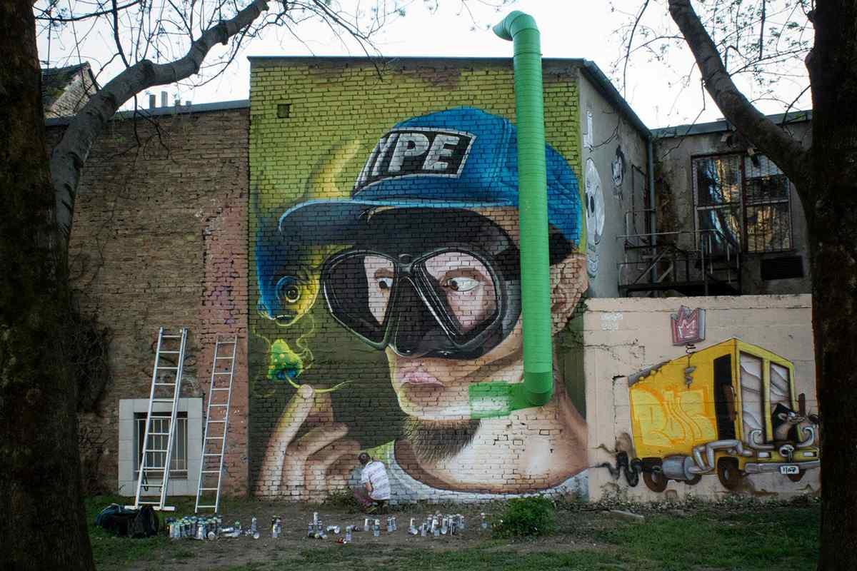 Street art and murals Lonac