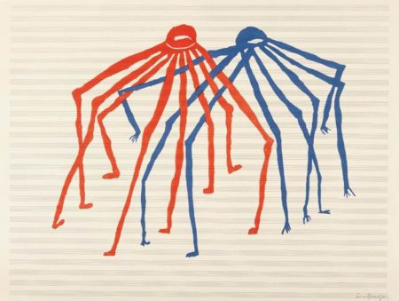 Louise Bourgeois-Jitterbugging Spiders-1998