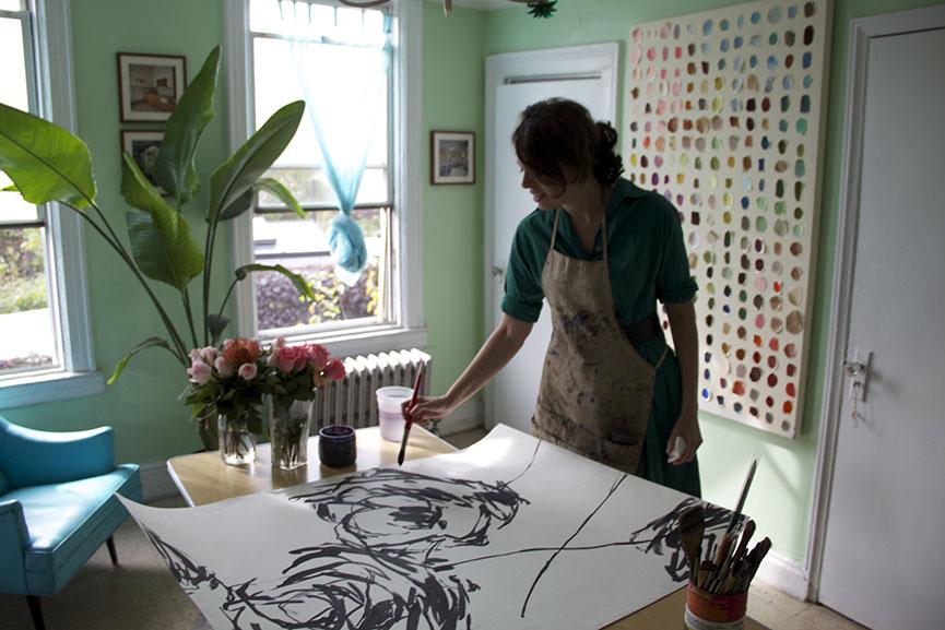 watercolor artist