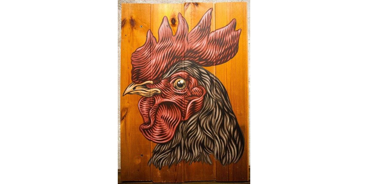 Lucamaleonte - Prima che il gallo canti, 2014, Sacripante Gallery, photo credits - artist