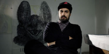 Lucamaleonte, street artist, photo credits - Space Metropoliz