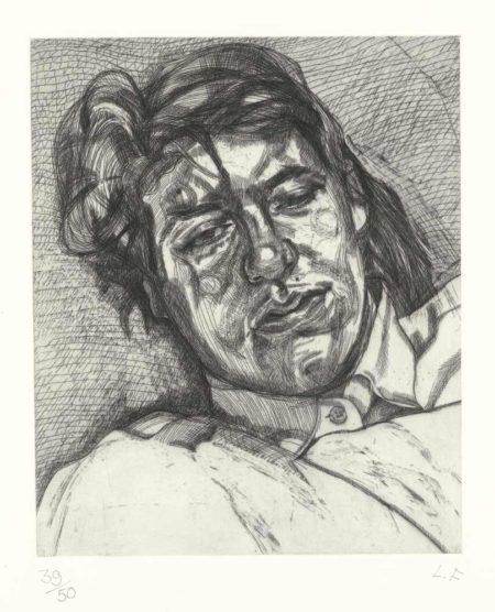 Lucian Freud-Bella-1987