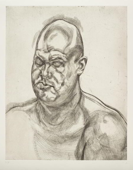 Lucian Freud-Large Head-1993