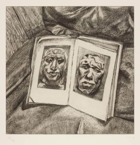 Lucian Freud-The Egyptian Book-1994