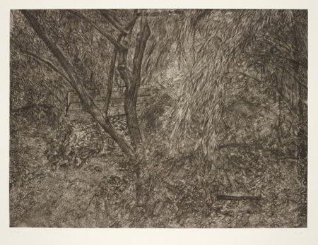 Lucian Freud-The Painter's Garden-2004