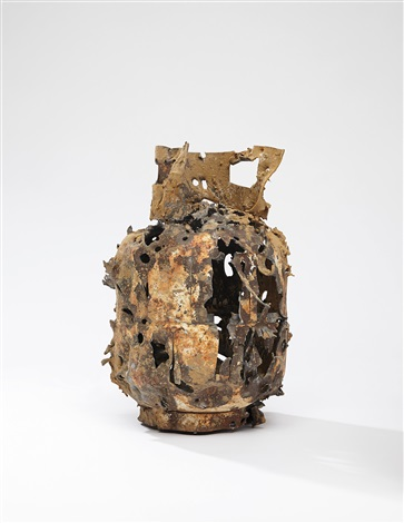 Lucien Smith-Untitled (Scrap Metal 4369)-2013