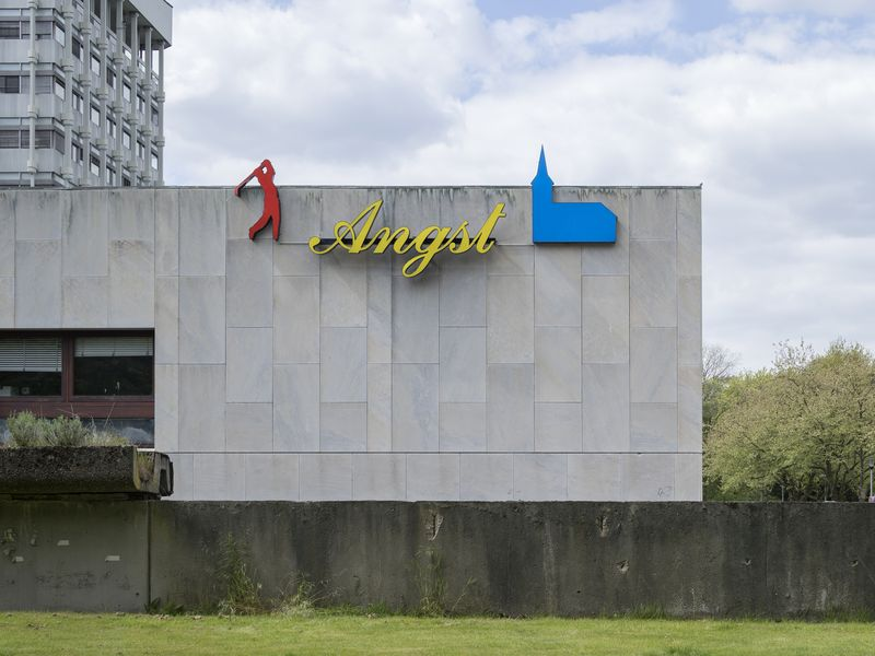 Ludfer Gerdes, Angst, 1989, Location in Marl. Photo by Henning Rogge