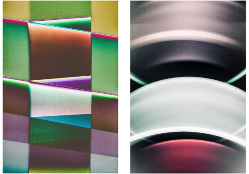 Luuk de Haan - Color Field 12, 2015 / Nicht in die Laufende Trommel Greifen 12, 2015
