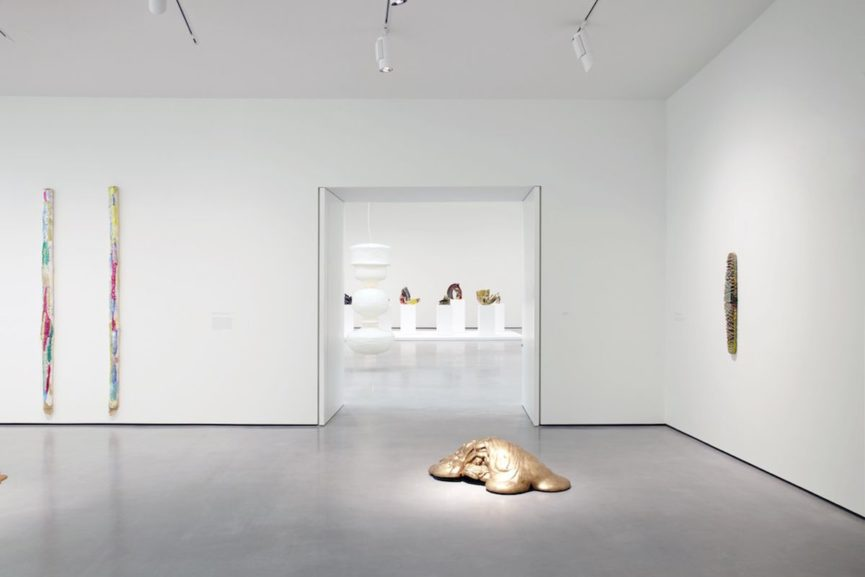 Lynda Benglis, Installation View at the Hepworth Wakefield, via cfileonline org