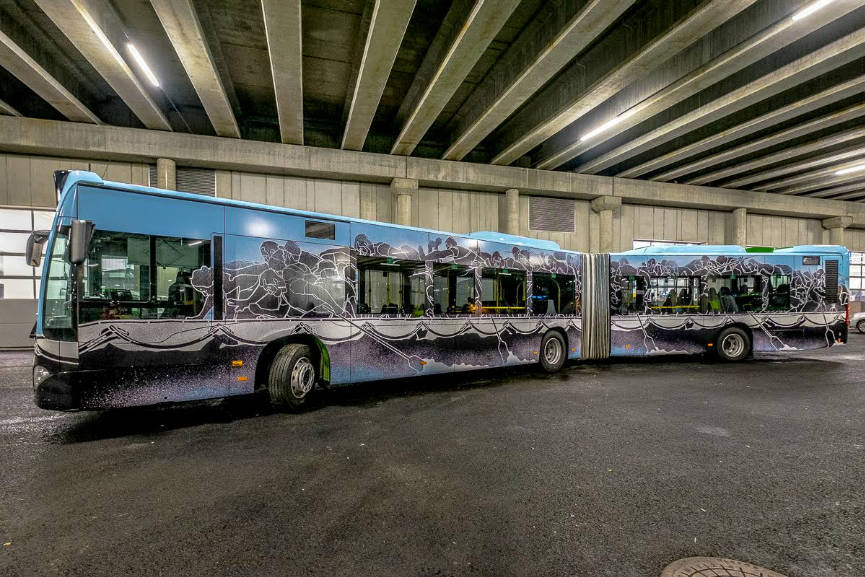 Bus and truck from 2017 has the best design of all buses in norway