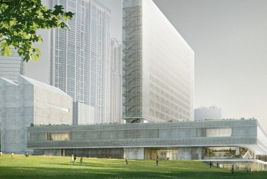 What is the future for the so called m museum in hong for Hk architecture firm