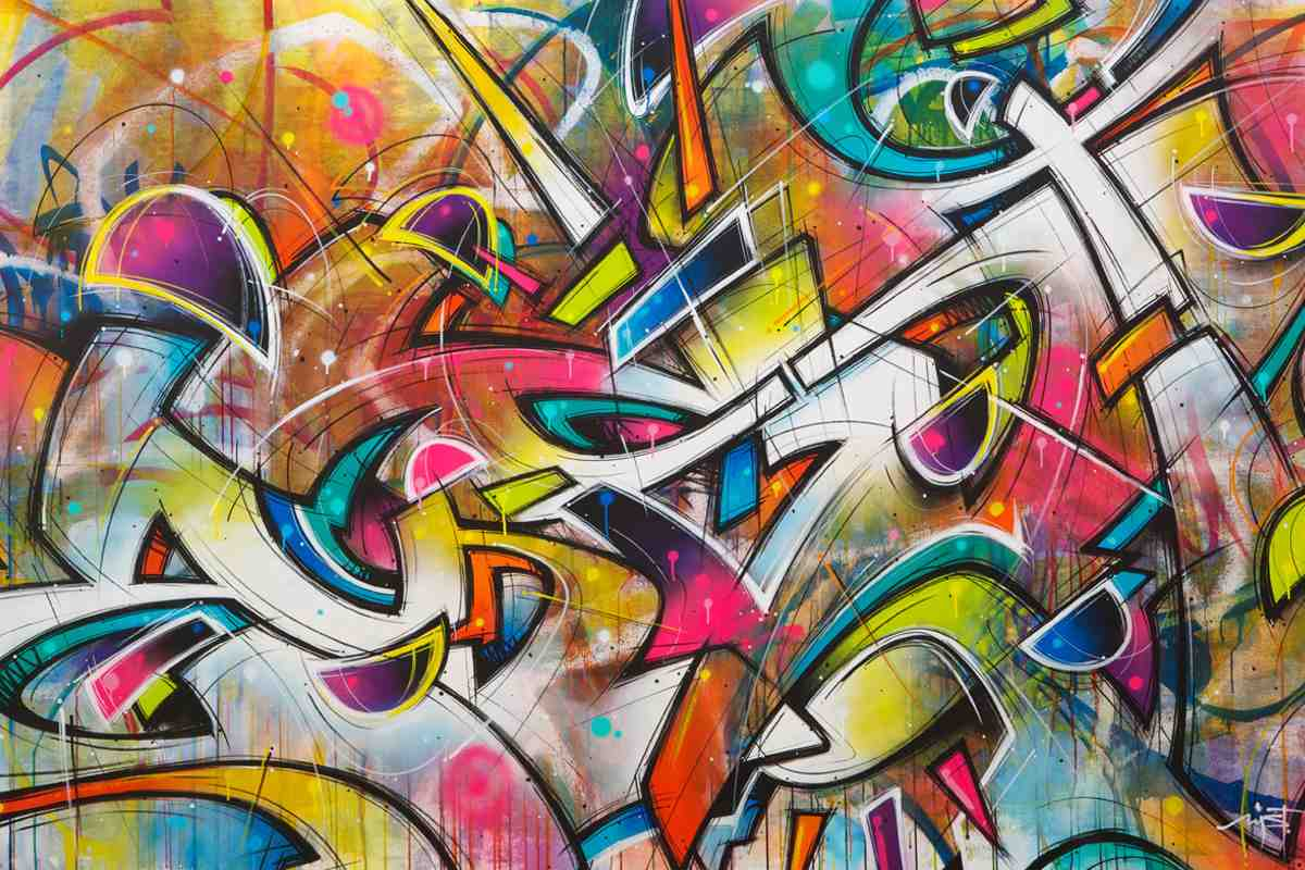 Graffiti Inspired Art Pieces You Can Own Now