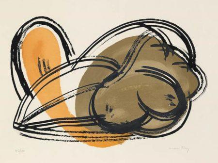 Man Ray-Nudo-1964