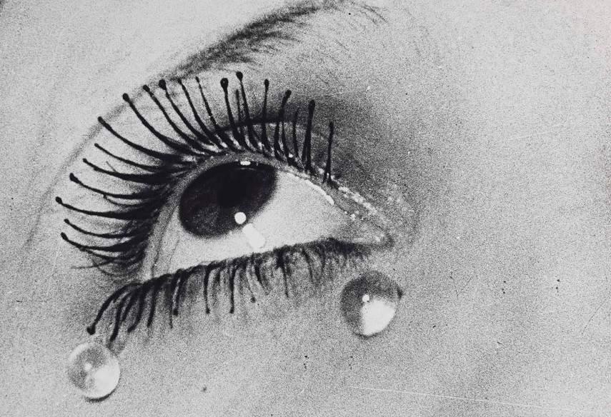 Man Ray - Tears (Les Larmes) - Image via new harryneelamcom