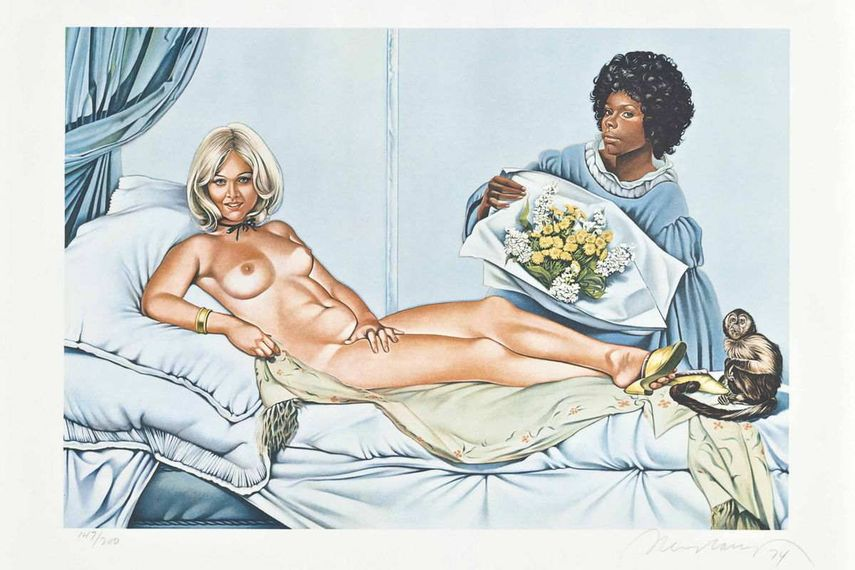 Manet's Olympia, 1974